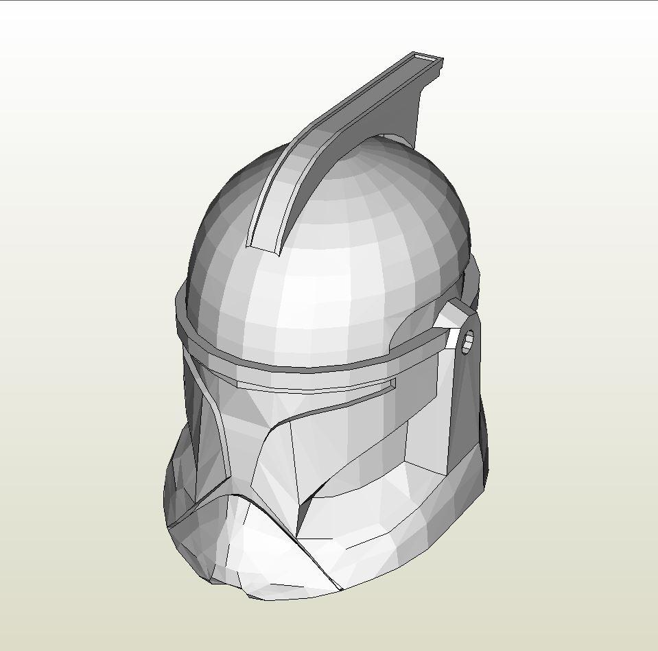 Clone trooper phase 1 pepakura