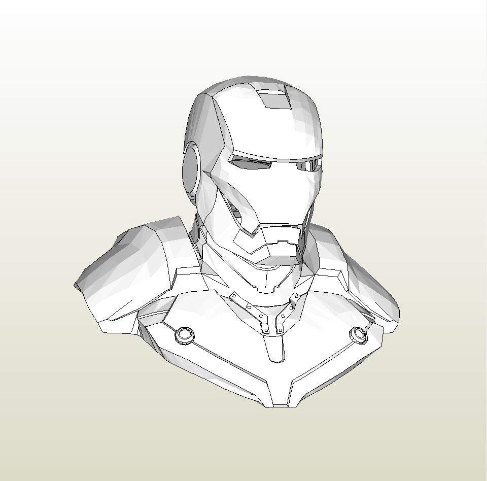 Iron Man Pepakura Files Download